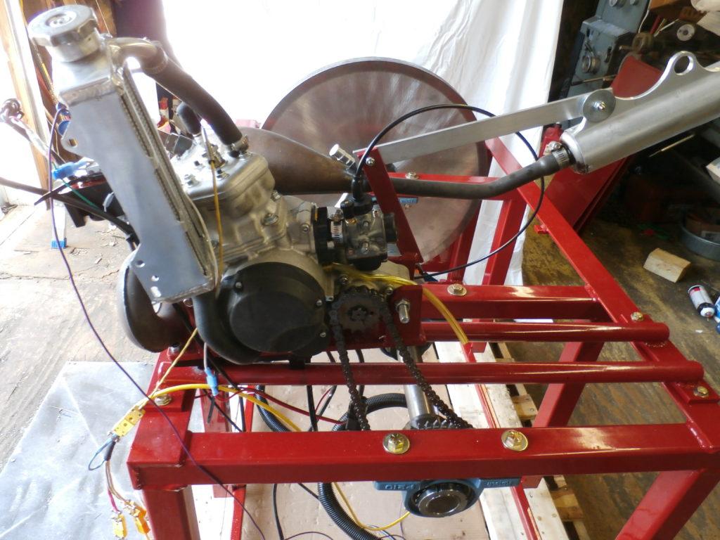 Hewitt Inertia Dyno for Motorcycles